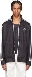 Adidas By Alexander Wang Originals Black And White Track Jacket