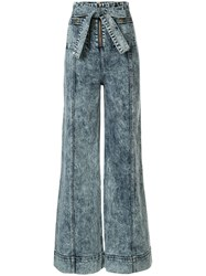 Alice Mccall We Dissolve Acid Wash Wide Leg Jeans 60