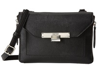 Nine West Strong Angles Crossbody Black Satchel Handbags