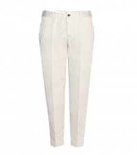 Isabel Marant Etoile Loane Cropped Cotton Trousers Neutrals