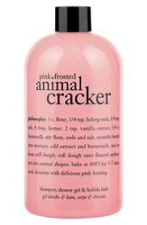 Philosophy 'Pink Frosted Animal Cracker' Shampoo Shower Gel And Bubble Bath No Color