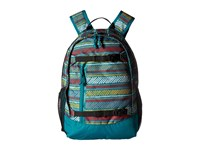 Burton Youth Day Hiker 20L Paint Stripe Print Backpack Bags Blue