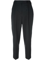 Alberto Biani Tailored Cropped Trousers Grey