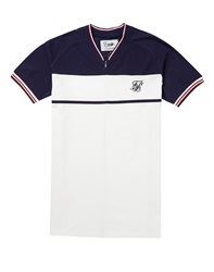 Sik Silk Siksilk Retro Zip Pique Polo