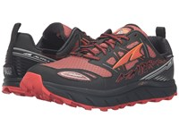 Altra Footwear Lone Peak 3 Neoshell Black Orange Men's Shoes