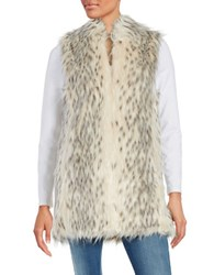 Miscellaneous Faux Fur Vest White