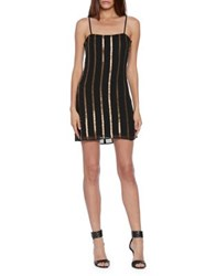 Walter Baker Tatiana Mini Dress Black