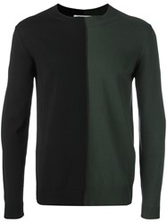 Marni Two Tone Jumper Green