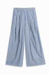 Adam By Adam Lippes Shirting Trousers Blue