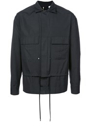 Oamc Layered Jacket Black