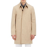 Aquascutum London Slim Broadgate Raincoat Beige Tan