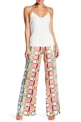 Clover Canyon Painted Plaid Pant Multi