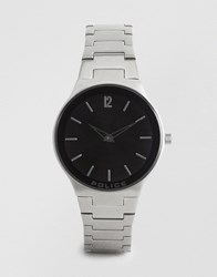 Police Downtown Stainless Watch Silver
