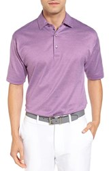Bobby Jones Men's Ponce Pique Cotton Polo Bora Bora