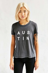 Truly Madly Deeply Austen Pigment Tee Washed Black