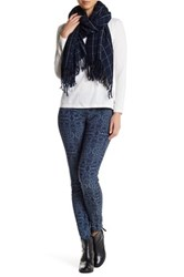 Hue Arabesque Denim Jacquard Legging Purple
