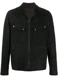 Salvatore Santoro Fitted Leather Jacket 60