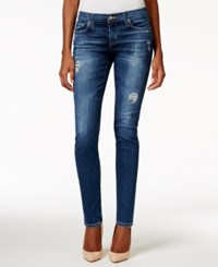 Big Star Alex Ripped Ankle Skinny Beverley Wash Jeans