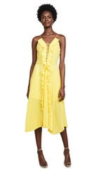 Delfi Collective Gwen Dress Yellow