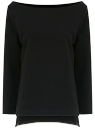 Gloria Coelho Knitted Sweater Black