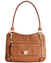 Style And Co. Slouchy Zip Satchel Luggage