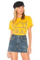Junk Food Pink Floyd Dark Side Of The Moon Tee Yellow