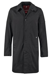 G Star Gstar Jamesz Zip 3D Trench Trenchcoat Black