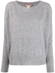 Twin Set Boat Neck Jumper Grey
