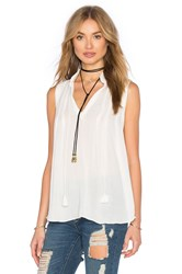 Bishop Young Braided Tank White