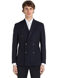 Boglioli Double Breasted Wool Hopsack K Jacket