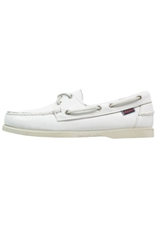 Sebago Docksides Boat Shoes White