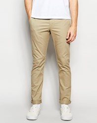 Dickies 803 Work Pant Chino In Skinny Fit British Tan Beige