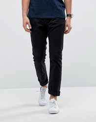 Only And Sons Slim Fit Chino Black