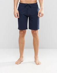 Esprit Lounge Shorts In Regular Fit Navy