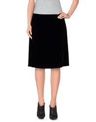 Siyu Skirts Knee Length Skirts Women Black
