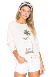 Wildfox Couture X Revolve Tropical Escape Sommers Sweater Pink