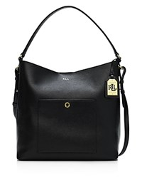 Lauren Ralph Lauren Newbury Pocket Hobo Black