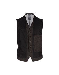 Ann Demeulemeester Suits And Jackets Waistcoats Men Black