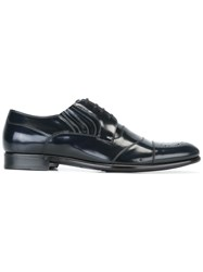 Dolce And Gabbana Formal Lace Up Shoes Blue
