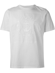 Oamc Embroidered Anchor T Shirt