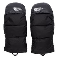 The North Face Black Down Nuptse Mittens
