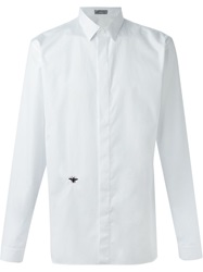 Christian Dior Dior Homme Bee Embroidery Shirt White