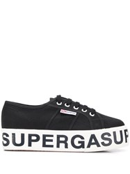 Superga 2790 Logo Sneakers Black