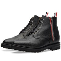 Thom Browne Zip Commando Boot Black
