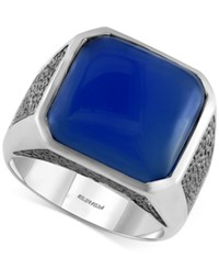 Effy Collection Gento By Effy Men's Lapis Lazuli 15 1 5 Ct. T.W. Ring In Sterling Silver