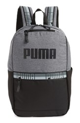 Puma Speedway Backpack Grey Gray Black