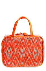 Stephanie Johnson 'Tamarindo Orange' Traveler Cosmetics Case
