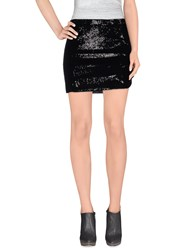 Beayukmui Skirts Mini Skirts Women Black