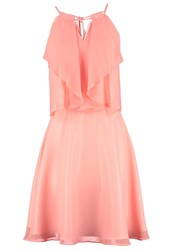 Swing Cocktail Dress Party Dress Helllachsorange Apricot