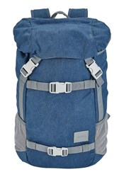 Nixon Blue And Grey Landlock Se Backpack 33 L